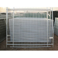 Clôture temporaire portative galvanisée à bas prix pour chiens