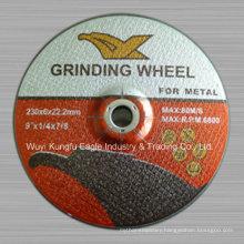 T27 Fiber Glass Reinforced Resionoid Depressed Center Grinding Wheel