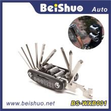 16 em 1 Hot Selling Bicycle Repair Tool Set com Multifunção