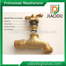 Trade Factory Price Whole sale Lead Free Forged copper one outlet antique brass faucet