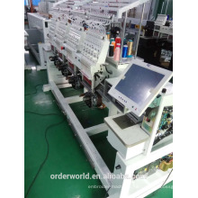 ORDER 4 head used barudan style new embroidery machines for sale