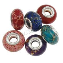 2015 Gets.com Perles de pierres précieuses européennes, matériel canbe OEM