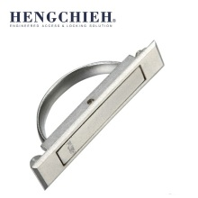 ZDC Chrome-plated New Designed Press Switch Cabinet Handles