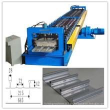 Rollo de la plataforma de piso de hoja fría de metal que forma la máquina