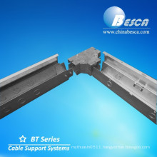 Anti-Rust Cable Tray with Cover Factory Cable Trunking UL Hinged Wireway with UL Number E465156 Besca