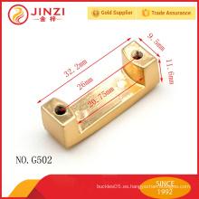 Todo el tamaño de moda de aleación de zinc de metal de accesorios de bolsillo de Jinzi