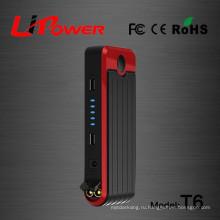 12V 12000mah полимерный литий-ионный аккумулятор Зажигание стартера с фонариком