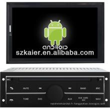 Lecteur de dvd de voiture d'Android 4.1 1080P pour Mitsubishi L200 avec GPS / Bluetooth / TV / 3G / WIFI