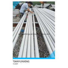 TP304 Tp316 Tp321 Seamless Stainless Steel Pipe Tube