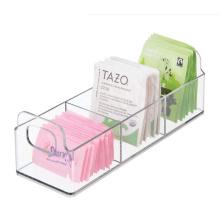Small Acrylic Plastic Kitchen Pantry, Medicine Cabinet, Countertop Organizer Storage
