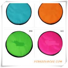 2015 Werbegeschenk für Haustier Frisbee Hochwertiges Haustier Stoff Frisbee Günstige Werbeartikel Bunt Faltbares Haustier Frisbee (OS02049)