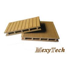China fábrica ambiental WPC Decking piso de telha de madeira Compostie de plástico