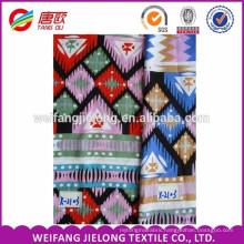 plain printed 100 viscose rayon fabric for ladies cloths printing