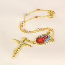 2014 pulsera de la Virgen de la cruz de la joyería de la manera (71624)