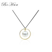 Factory New design pearl long chain sweater choker  necklace