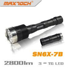 Maxtoch SN6X-7B 18650 2800LM 3 * CREE militar LED antorcha