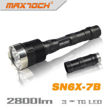 Maxtoch SN6X-7B 18650 2800LM 3*CREE LED Military Torch