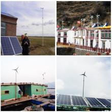 Sistema de Turbina Eólica para Área Remota