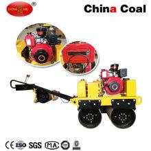 ЗМ-50 Бензиновый Двигатель Прогулка За Ручной Вибрационный Уплотнитель Ролика