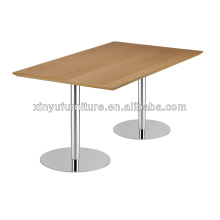 Modern stainless steel dining room table for sale XT6890