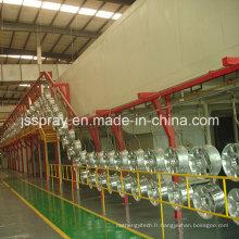 Ligne de revêtement de poudre d'aluminium