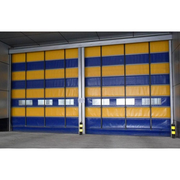 Externes High Speed ​​Rolltor Shutter Garagentor