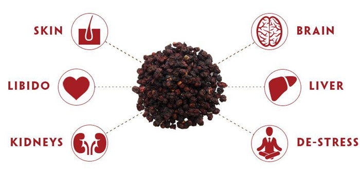 Dried South Schisandra Berry Chinese Herbal Medicine (5)