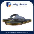 Leather Flat Beach Slipper Men Shoe Flip Flop