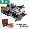 Valve Paper Bag Ligne de production de tubercules avec machine d'impression (ZT9802S et HD4916BD)