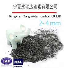 Bulk density of granular adsorbent china coal based activated carbon