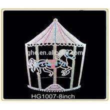 Fábrica de fabricación profesional directamente anillo corona de la reina