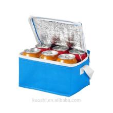 Preiswerte Werbeverpackung Non-Woven-6-Pack-Kühltasche