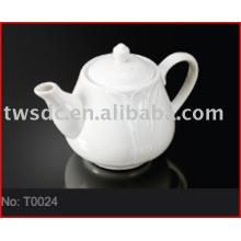 Hotel & restaurant chinese porcelain tea pot (No.T0024)
