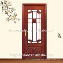Glass Design Wood Door,Vintage Wood Door,Interior Door