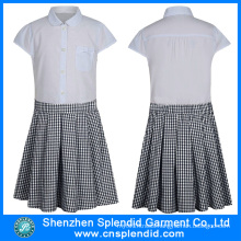 China Wholesale Clothing Fashion School Uniform Design Skirt