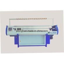 Máquina de confecção de malhas lisa do jacquard do calibre 10 para a camisola (TL-252S)