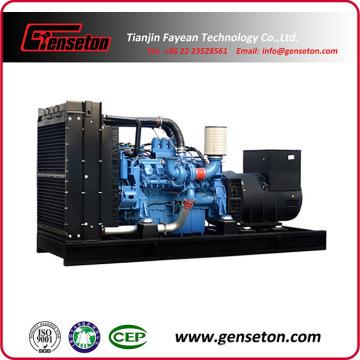 Контейнерный звукоизоляционный дизель-генераторный агрегат Mtu