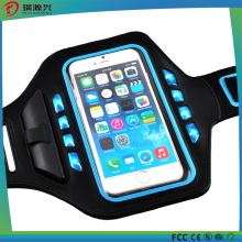 Мода водонепроницаемый бег повязку кожаный чехол для iPhone6s плюс 5