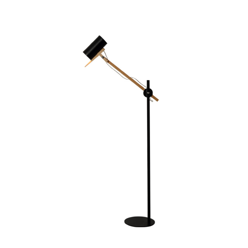 Wooden Reading Floor Lamp