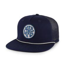 Chapéu de malha masculina de verão com logotipo personalizado