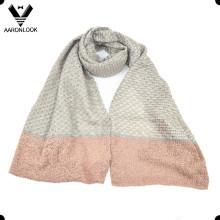 Invierno Moda Patrón de Tejido Jacquard Bufanda