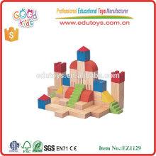 Top Sale 11 Formes Bébé Ensemble Toy Hardwood Children Construction Blocks