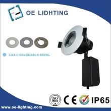 Certificación de la calidad 3 ajuste caliente. Fresco y luz diurna LED abajo luz