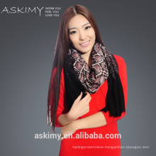 2015 new fashion 100% wool scarf from inner mongolia