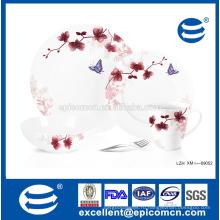 Грейс цветочный фарфоровый сервиз 16шт.