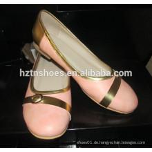 Damen Schuh Ballett flexible Niedliche Multi Farbe Flach Tanz Schuhe