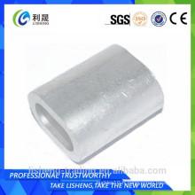 Tube ovale en aluminium à chaud à 2015