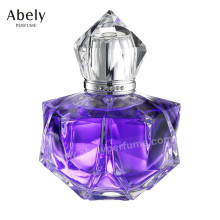 Perfume da garrafa de vidro da forma 100ml do desenhista para a fêmea
