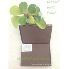 Tablero de madera compuesto fácil de WPC del tablero de madera compuesto de la caja para la piscina de la flor