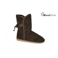 Women′s New Arrival Microfiber Winter Boots with Bow